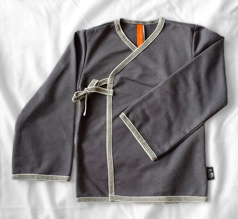 Swing Cardigan (City Grey)