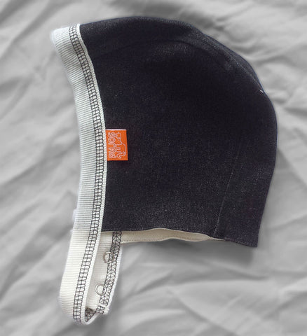 Reversible Bonnet (Black Jean)