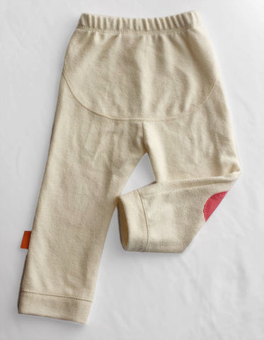 Cozy Pants (Natural with Pink)