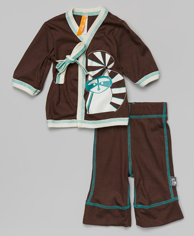 Ninja Outfit (Chocolate Brown)