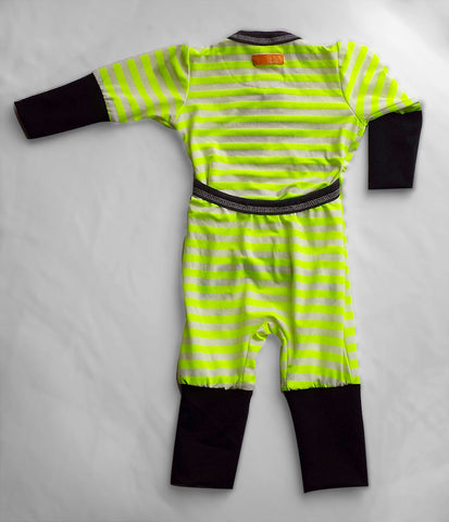 Playsuit (Radioactive Stripes)