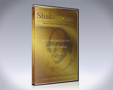 Shakespeare: Three Classical Stratford Comedies
