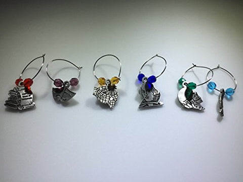 Shakespear wine charms