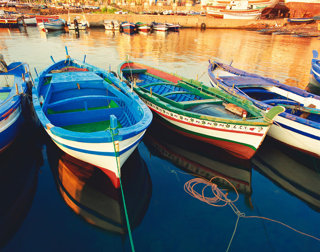 Boats of Sicily