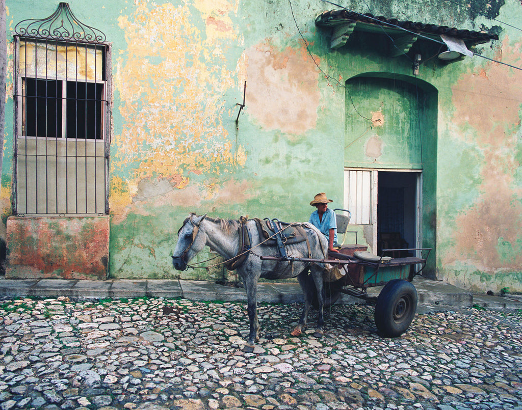 Cobblestones and Cart