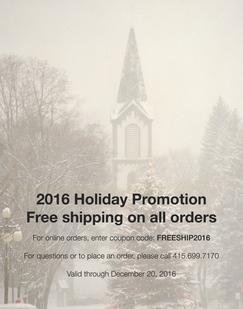 2016 Holiday Promotion