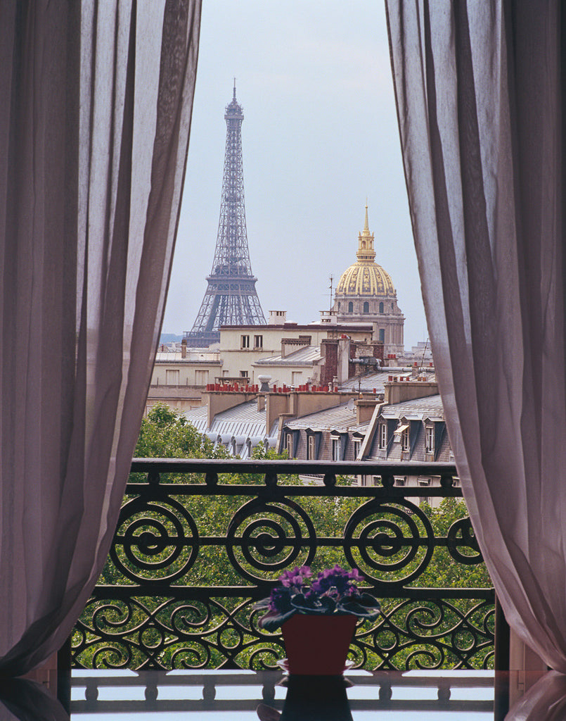 Parisian Room with a View
