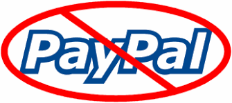 Why we can't accept Paypal anymore