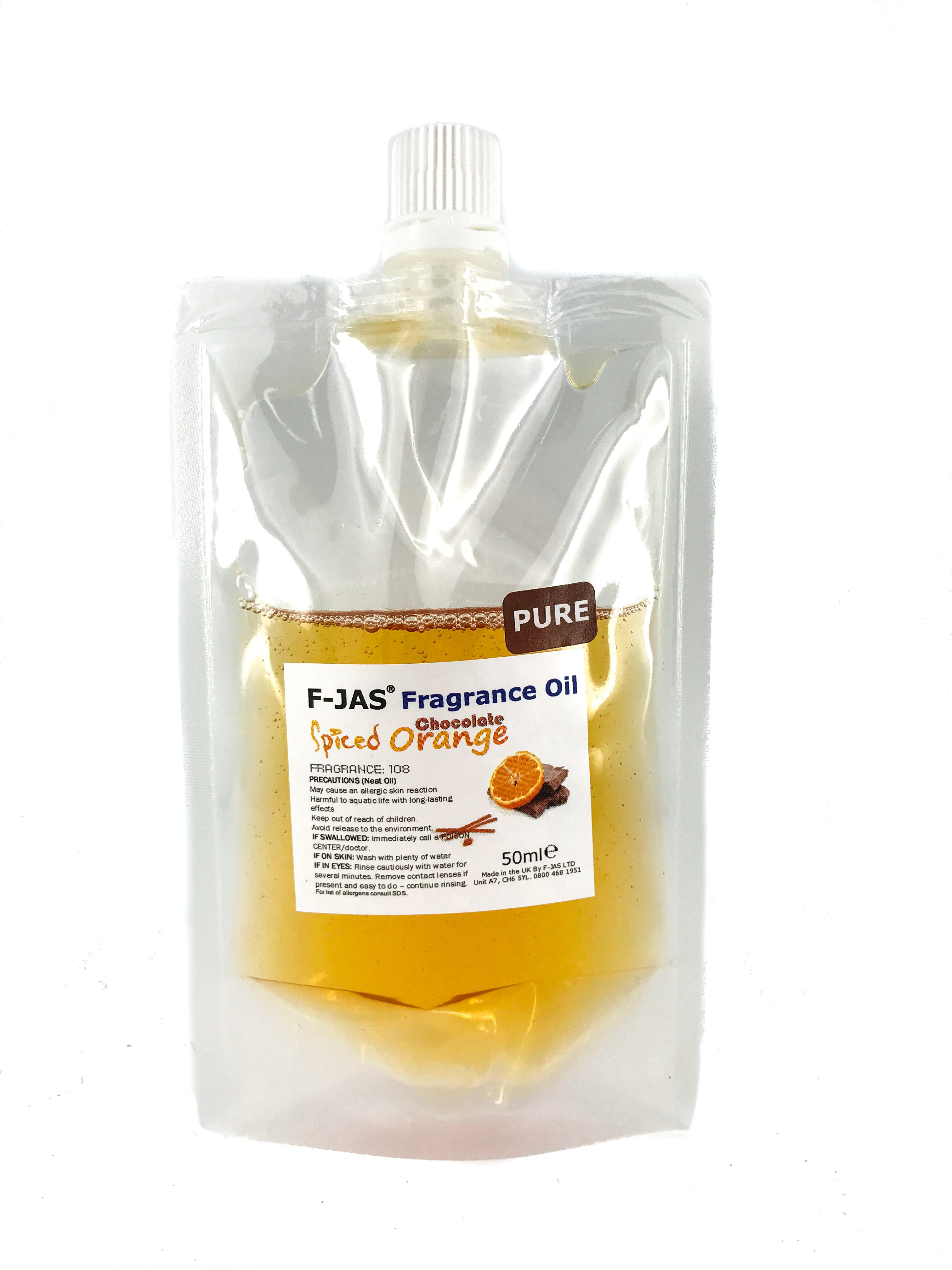 Fragrance Oil 50ml Pouch (Pure)