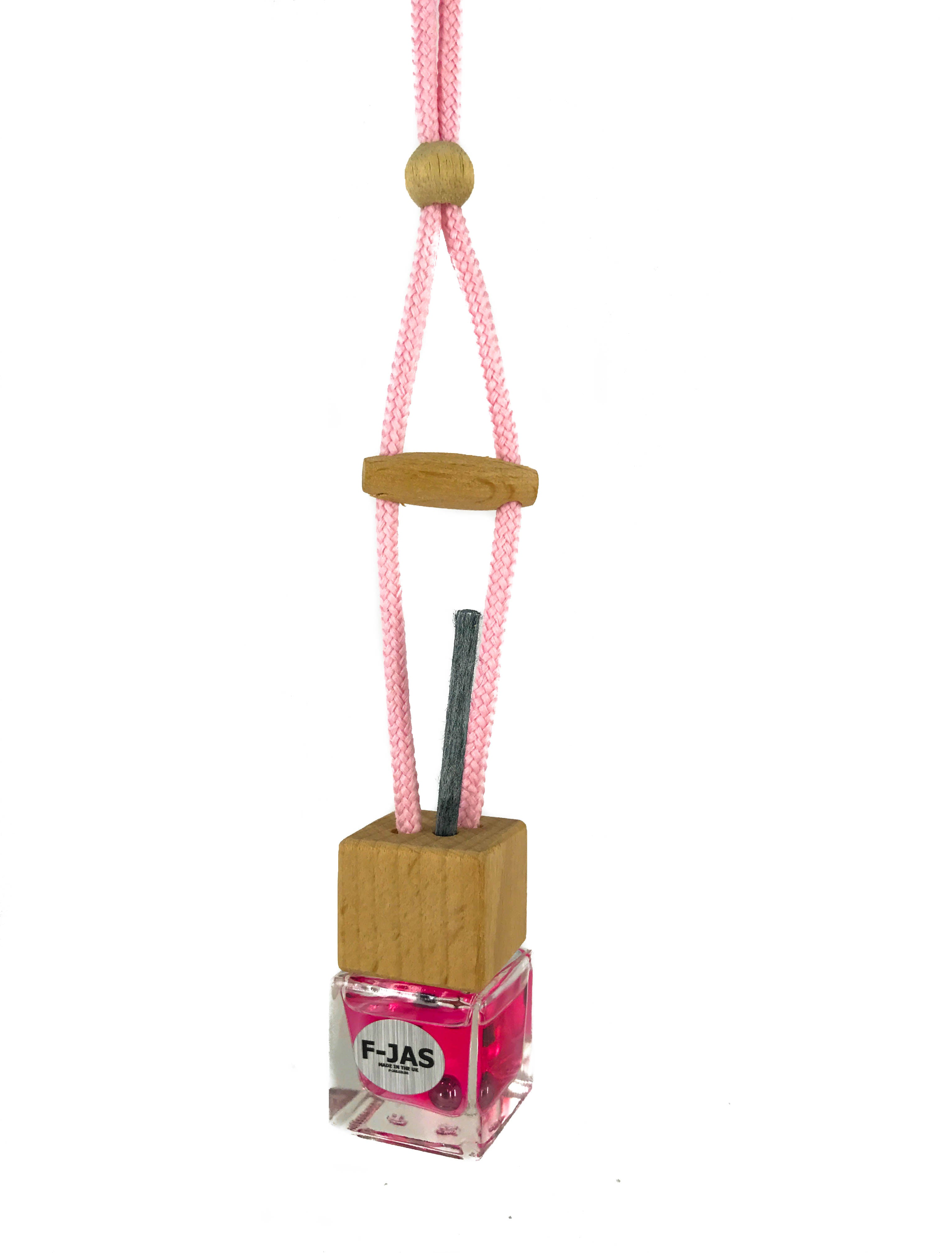 Hanging Car Reed Diffuser (Classic Pink)