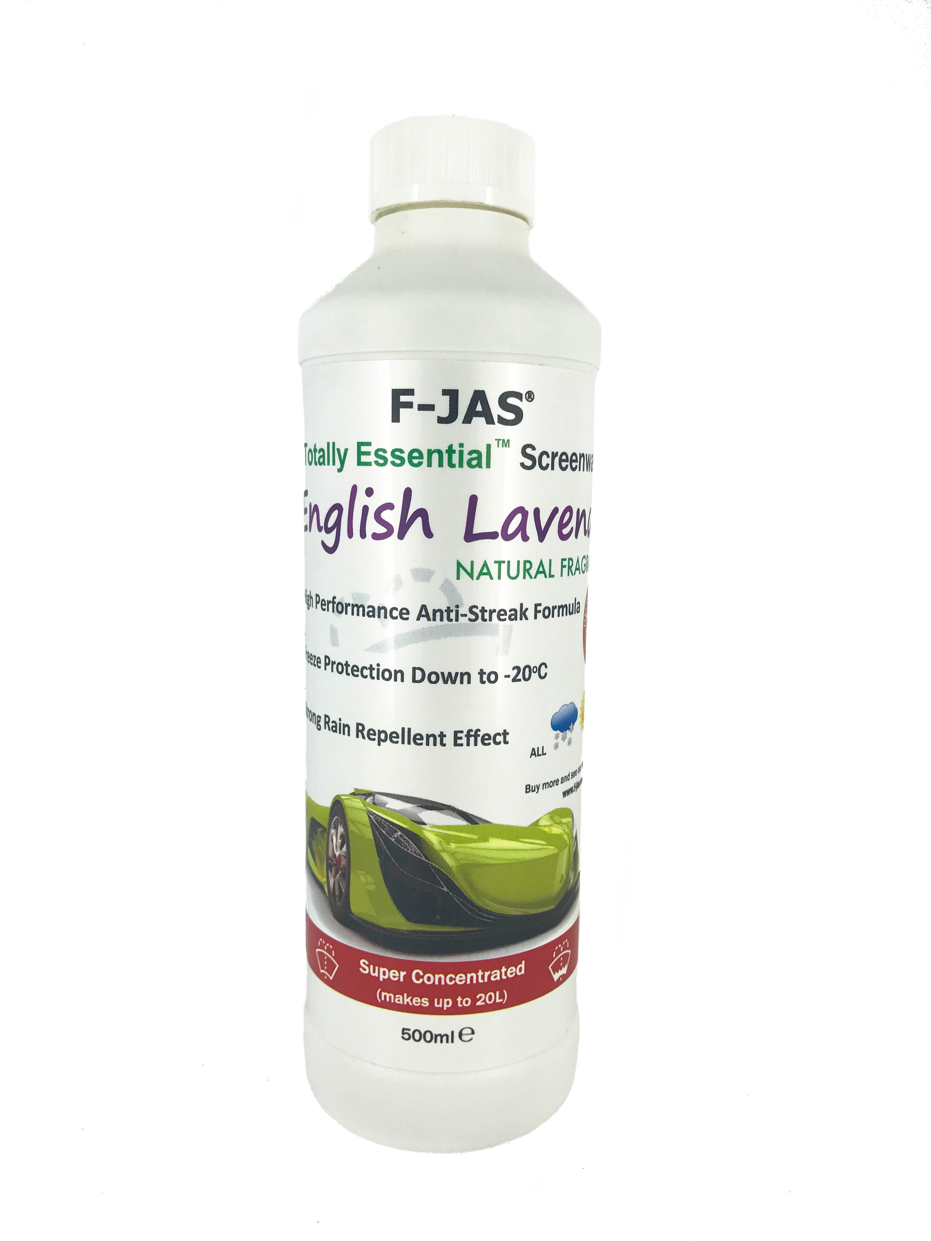 Naturally Scented Screenwash, 500ml Super Concentrated