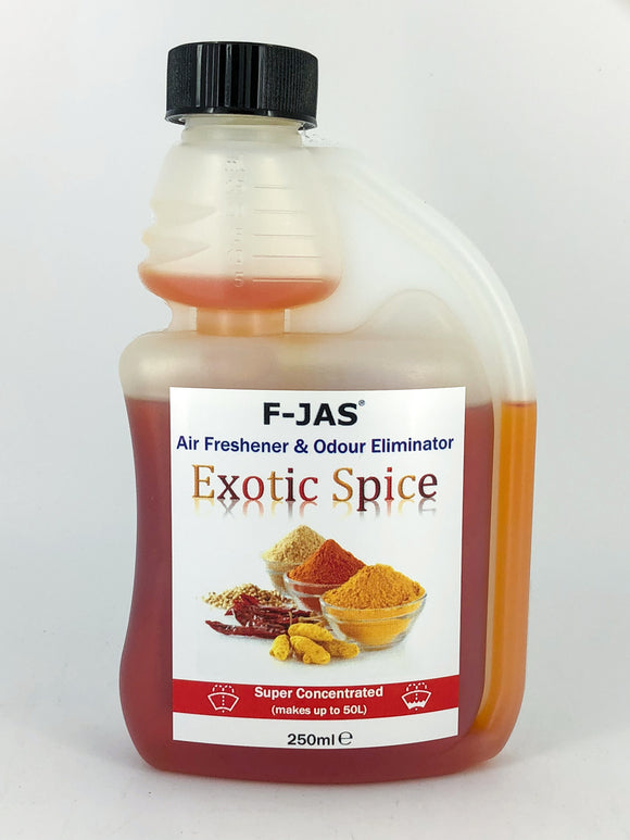 Air Freshener & Odour Eliminator (250ml Super Concentrated, Exotic Spice)