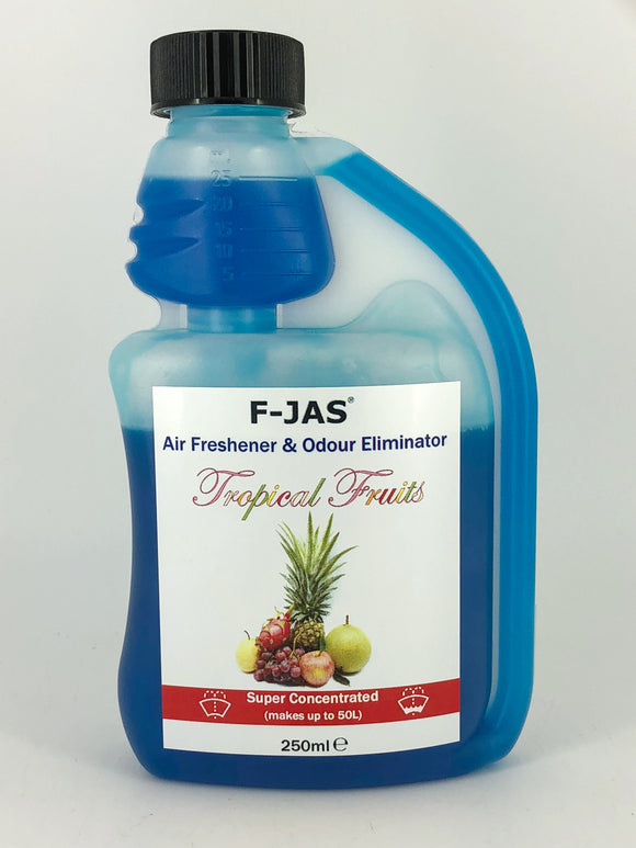 Air Freshener & Odour Eliminator (250ml Super Concentrated, Tropical Fruits)
