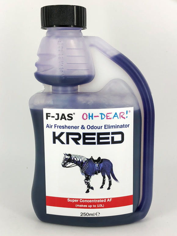 Air Freshener & Odour Eliminator (250ml Super Concentrated, Kreed)