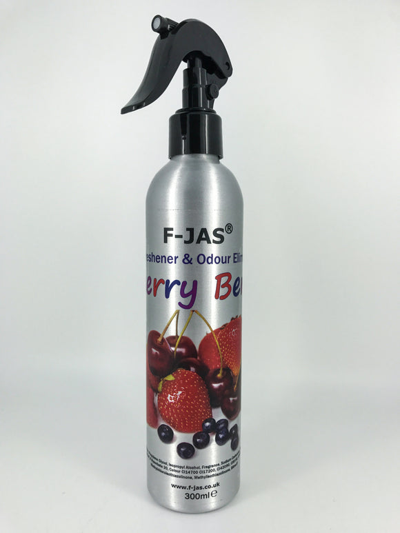 Air Freshener & Odour Eliminator (300ml Atomiser, Cherry Berry)