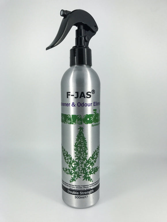 Air Freshener & Odour Eliminator (300ml Atomiser, Cannabis Scent)