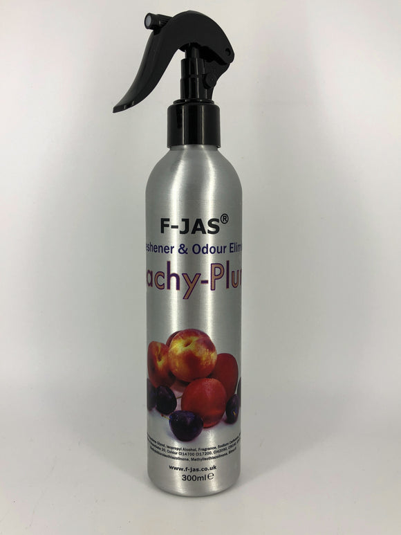 Air Freshener & Odour Eliminator (300ml Atomiser, Peachy-Plums)