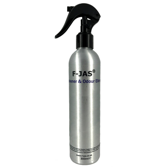 Air Freshener & Odour Eliminator (300ml Atomiser, Black Suede)
