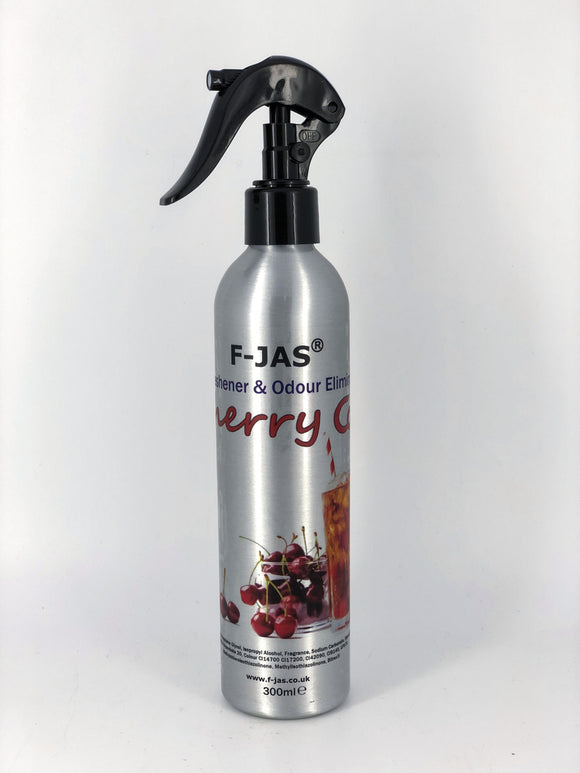 Air Freshener & Odour Eliminator (300ml Atomiser, Cherry Cola)