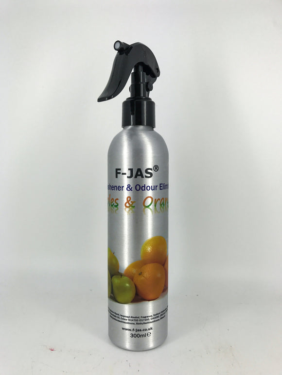 Air Freshener & Odour Eliminator (300ml Atomiser, Apples & Oranges)