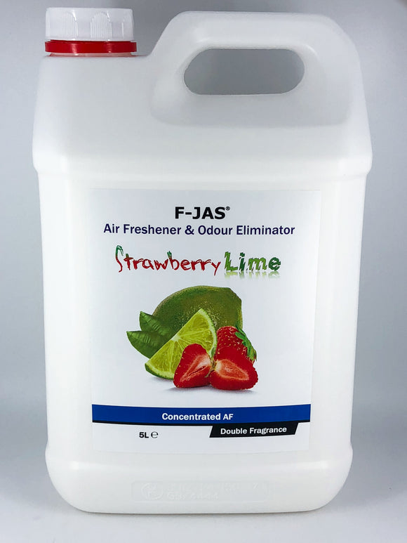 Air Freshener & Odour Eliminator (5L Concentrated, Double Strength, Strawberry & Lime)