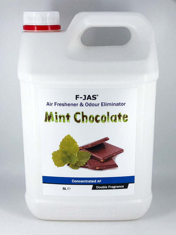 Air Freshener & Odour Eliminator (5L Concentrated, Double Strength, Mint Chocolate)