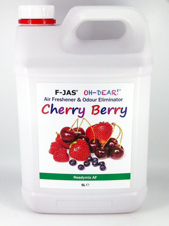 Air Freshener & Odour Eliminator (5L Readymix, Cherry Berry)