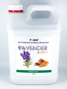 Air Freshener & Odour Eliminator (5L Readymix, Lavender & Spice)