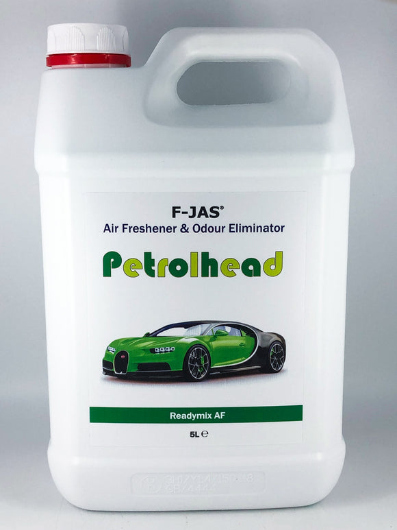 Air Freshener & Odour Eliminator (5L Readymix, Petrolhead)