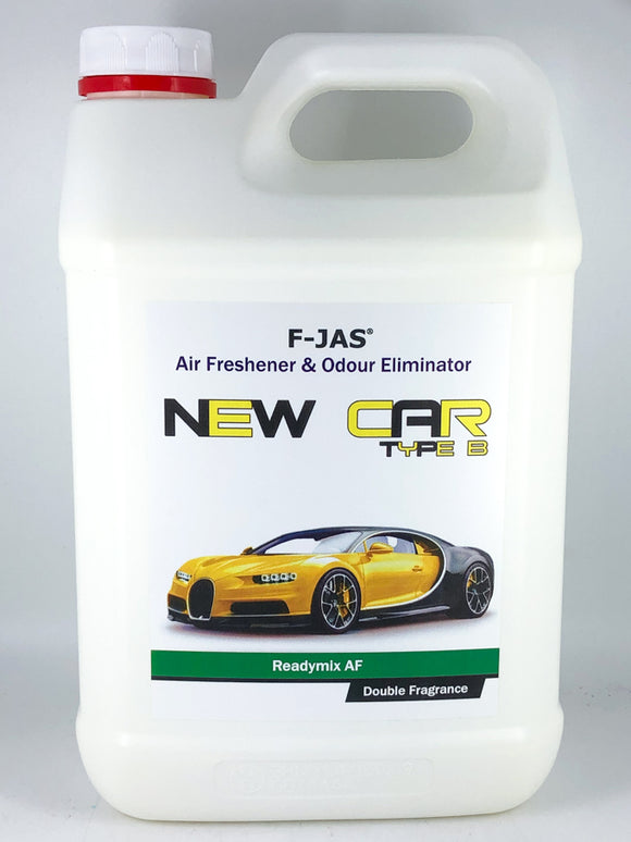 Air Freshener & Odour Eliminator (5L Readymix, Double Strength, New Car Type B)