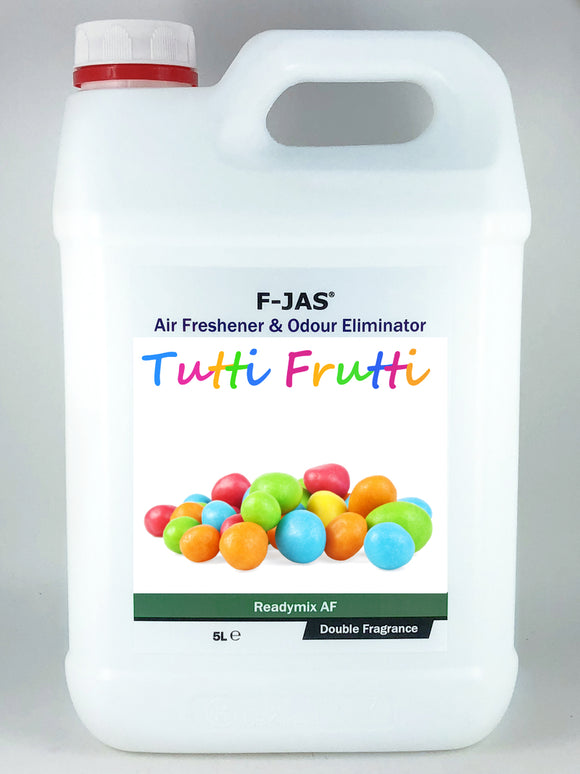 Air Freshener & Odour Eliminator (5L Readymix, Double Strength, Tutti Frutti)