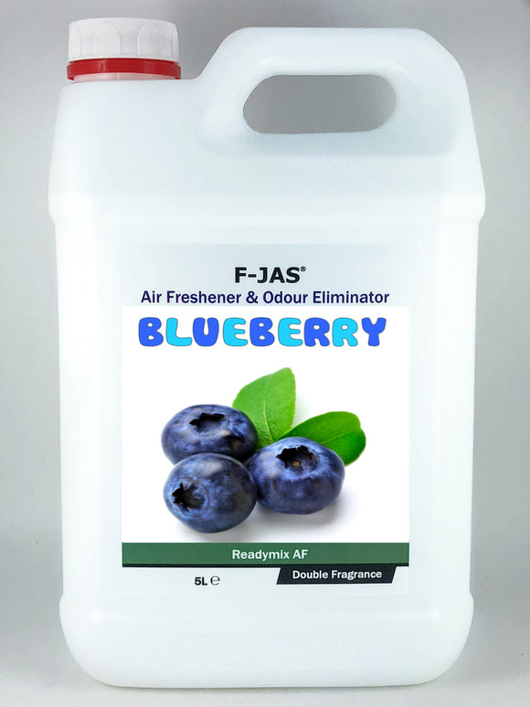 Air Freshener & Odour Eliminator (5L Readymix, Double Strength, Blueberry)
