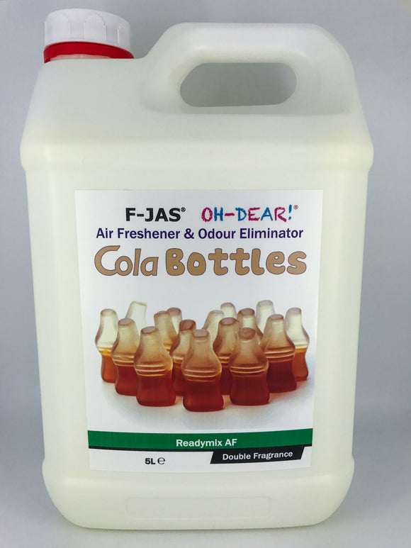 Air Freshener & Odour Eliminator (5L Readymix, Double Strength, Cola Bottles)