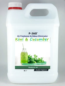 Air Freshener & Odour Eliminator (5L Readymix, Double Strength, Kiwi & Cucumber)