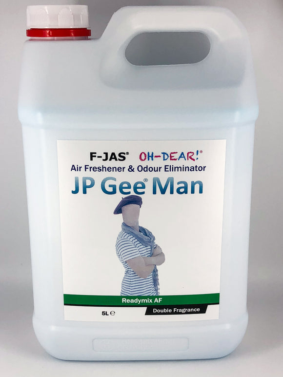 Air Freshener & Odour Eliminator (5L Readymix, Double Strength, JP Gee Man)
