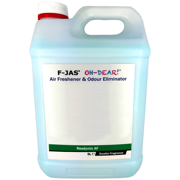 Air Freshener & Odour Eliminator (5L Readymix, Double Strength, Black Suede)