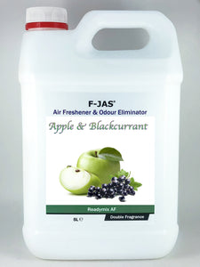 Air Freshener & Odour Eliminator (5L Readymix, Double Strength, Apple & Blackcurrant)