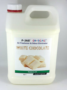 Air Freshener & Odour Eliminator (5L Readymix, Double Strength, White Chocolate)