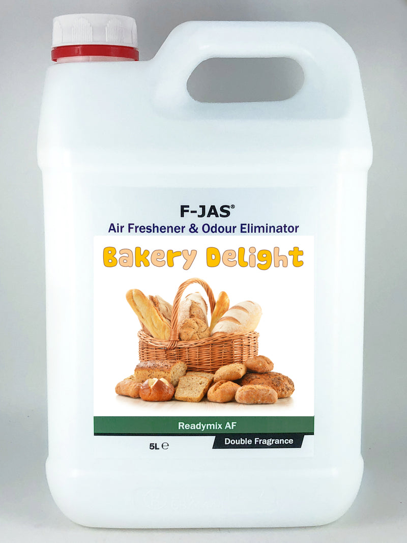 Air Freshener & Odour Eliminator (5L Readymix, Double Strength, Bakery Delight)