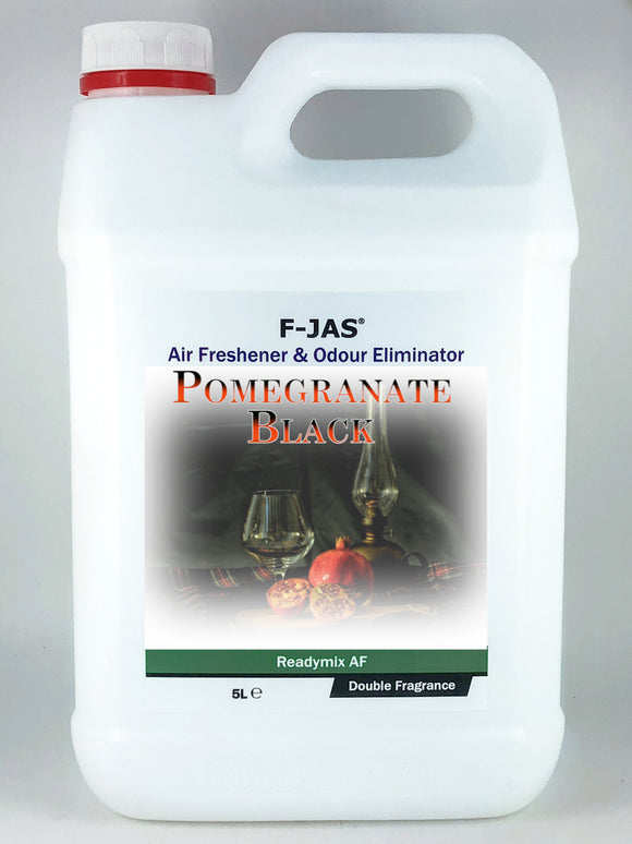 Air Freshener & Odour Eliminator (5L Readymix, Double Strength, Pomegranate Black)