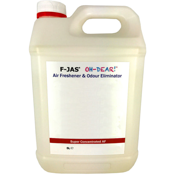 Air Freshener & Odour Eliminator (5L Super Concentrated, Whyte Musk)