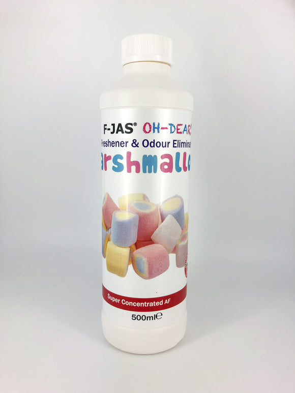 Air Freshener & Odour Eliminator (500ml Super Concentrated, Marshmallow)
