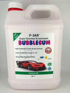 Super Scented Screenwash (5L Readymix, Bubblegum)