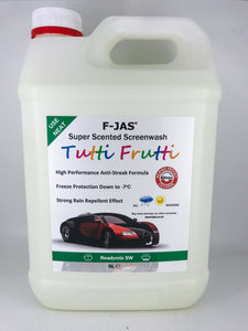 Super Scented Screenwash (5L Readymix, Tutti Frutti)