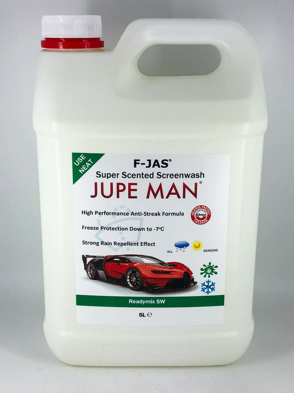 Super Scented Screenwash (5L Readymix, Jupe Man)
