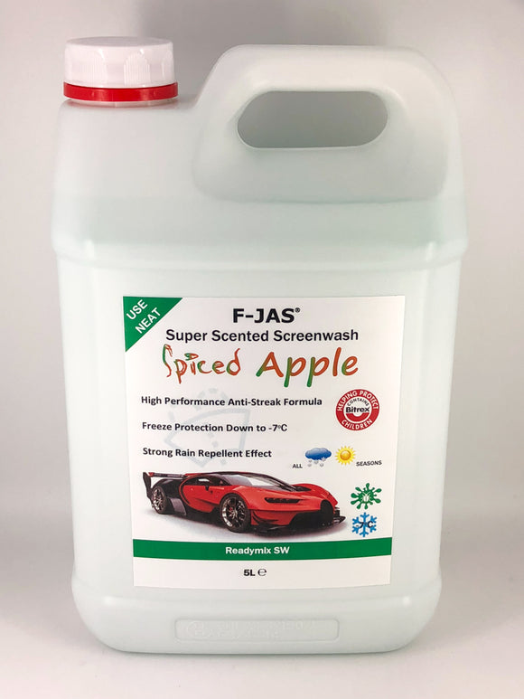 Super Scented Screenwash (5L Readymix, Spiced Apple)