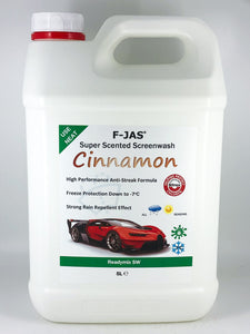 Super Scented Screenwash (5L Readymix, Cinnamon)
