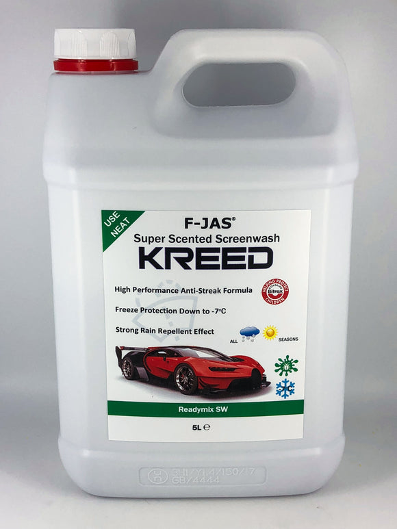 Super Scented Screenwash (5L Readymix, Kreed)