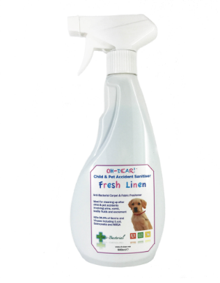 Child & Pet Accident Sanitiser 500ml