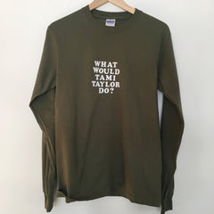 New crew neck style long sleeve shirt